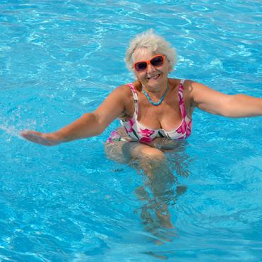 Verbazingwekkend Fifty Fit, bewegen in verwarmd water | Civic Amsterdam QM-94